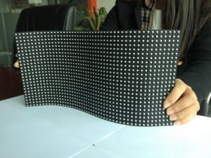 Indoor Flexible P10 LED Advrtising Display Moudle pictures & photos