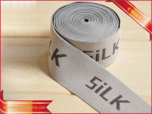 Underwear Elastic Jacquard Tape Clothing Woven Logo Tape pictures & photos