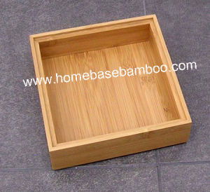Bamboo in Drawer Storage Box Tray (Stackable Box) Hb5006 pictures & photos