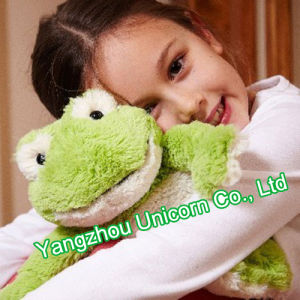 CE Stuffed Animal Plush Toy Frog Baby Soothe Appease Toy pictures & photos