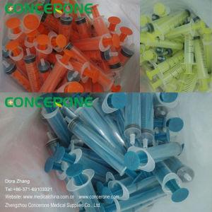Colored Liquid Dispenser Syringe for Cosmetic / Pre-Filled Syringe/ Dispensing Syringe pictures & photos