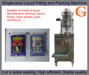 4 Sides Sealing 50ml Wine/Juice Filling and Packing Machine pictures & photos