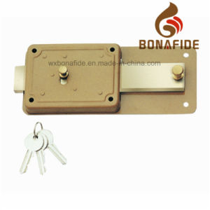 High Quality Security Rim Lock P60 pictures & photos