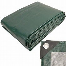 Green Color Cut Size Poly Tarp pictures & photos