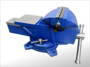 83 Type Bench Vise Swivel Base with Anvil pictures & photos