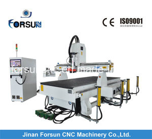 2000*3000mm China CNC Multi-Function Automatic Tool-Changer Engraving Machine