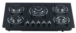 Build-in Gas Hob with Five Cast Iron Burner Jz5-Oh-Az02 pictures & photos