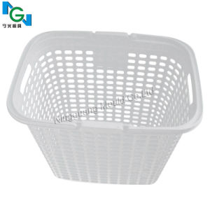 High Quality Plastic Mould for White Basket pictures & photos