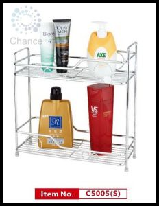 Two Tier Bathroom Shelf (C5005)