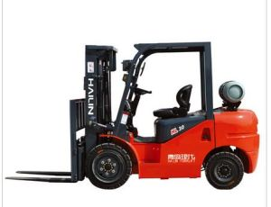 CPC-30gl Gasoline Forklift Truck pictures & photos