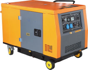 10GF-S Super Silent Diesel Generator With ATS (10KW) pictures & photos