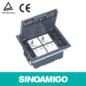 Floor Socket Box Intelligent Building Cabling System pictures & photos