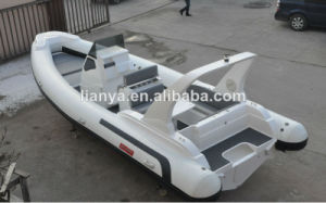 Ce Certificate 7.5m Luxury Rib Boat Hypalon Dinghy with Accessories pictures & photos