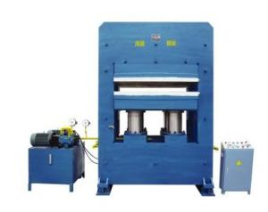 Man-Sized Plate Vulcanizing Press Machine (Frame type) / Rubber Curing Press