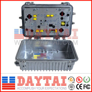 China Outdoor CATV Trunk Amplifier with Agc pictures & photos