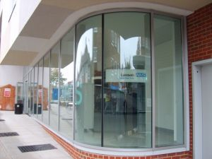Tempered Laminated Shop Front Glass pictures & photos