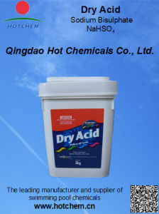 China Leading Supplier for Swimming Pool Water pH- Dry Acid Sodium Bisulphate pictures & photos