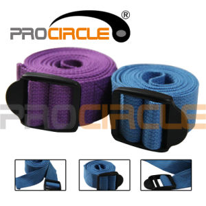 Adjustable Cotton Yoga Stretching Strap (PC-YS4001) pictures & photos