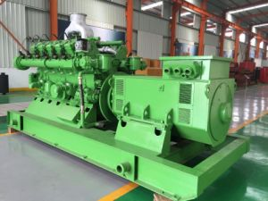 OEM Mwm Natural Gas Generator Set China Lvhuan 400kw with Four Stroke Spark Plug Ignition Water Cooling pictures & photos