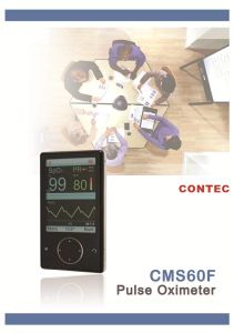 Bluetooth Wireless Pulse Oximeter Cms60fw-Telemedicine pictures & photos