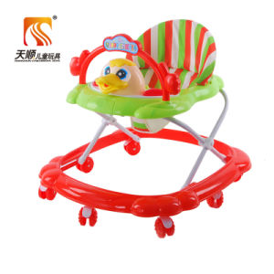 Popular Wholesale Plastic Wheels Musical Baby Walker for Sale pictures & photos