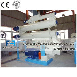 Twin Conditioners Turtle Feed Pellet Mill pictures & photos