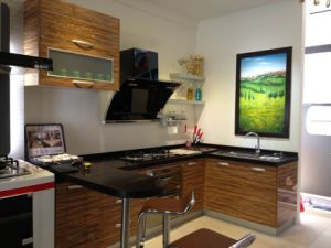 High Glossy Kitchen Furniture Guangzhou (customized) pictures & photos