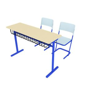 College/University Student Desk and Chair for India School Furniture (SF-38D) pictures & photos
