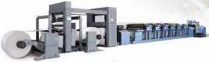 Medium Web Flexo Printing Machine for Paper Bag