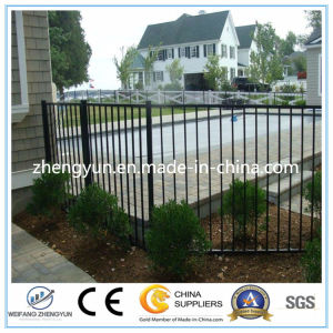 Black Steel Fence/Galvanized Steel Fence Gate/ Black Aluminum Fence pictures & photos