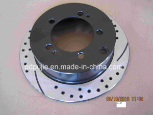 Rear Solid Rear Slotted Brake Discs (Amico 31147) for Mitsubishi Jeep pictures & photos