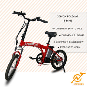 New Smart Mini 20 Inch Foldable Electric Bike 250W 36V Cheap Electric Folding Bike pictures & photos