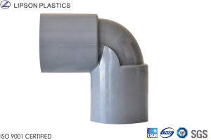 JIS 90 Deg Elbow--PVC Pressure Fittings pictures & photos