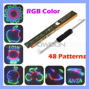 48 LED Colorful Double-Side Display Cycling Bicycle Bike DIY Spoke Wheel Light pictures & photos