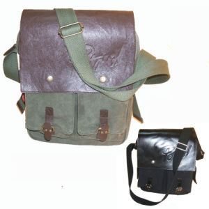 Canvas Messenger Bag, Laptop Bag for Student pictures & photos