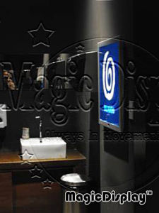 Magic Mirror LED Restroom Light Box