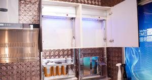 Acrylic MDF Door Kitchen Cabinet (zv-010) pictures & photos