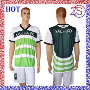 Custom Digital Sublimation Printing Soccer Jerseys pictures & photos