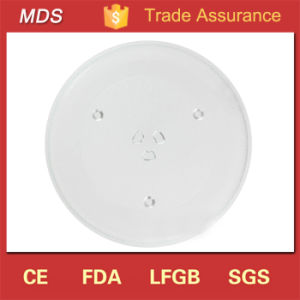 High Quality Microwave Glass 270mm Turntable Plate for Parts pictures & photos