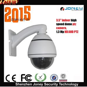 Joney HD1.3MP Ahd High Speed Dome PTZ Camera for Indoor pictures & photos