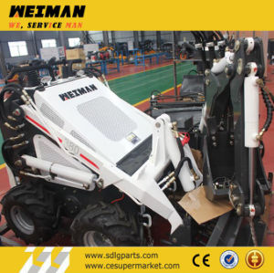 Hysoon Mini Skid Steer Loader Hy380 pictures & photos