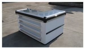 Supermarket Retail Stainless Cash Counter with Conveyor Belt 1025 pictures & photos