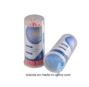Hot Sale Disposable Dental Micro Brush/Dental Applicator Brush 3 Head Sizes 100PCS/Box pictures & photos