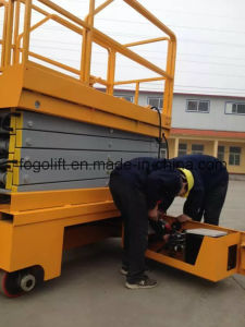 China Manufacturer Mobile Self-Propelled Hydraulic Lifting Platform pictures & photos