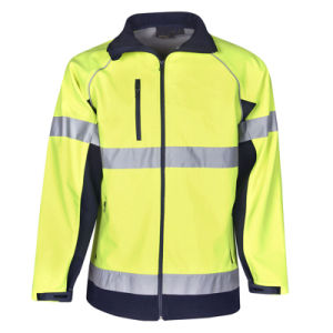 Customized Cotton Reflective Safety Work Jacket pictures & photos