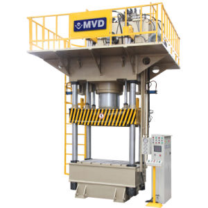 4-Column Hydraulic Press 800t, Hydraulic Deep Drawing Press 800 Tons for Sink pictures & photos