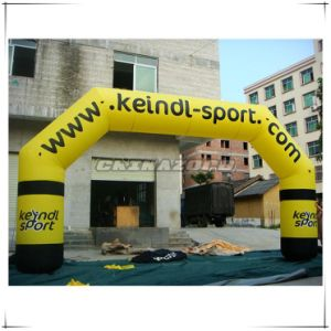 Custom Made Great Silk Printings Inflatable advertising Arch