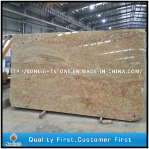 India Kashmir Gold Granite Slabs for Tiles/Countertops/Vanity Tops pictures & photos