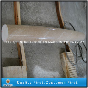 Polished Beige Marble Stone Line / Marble Moulding for Building Material pictures & photos