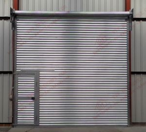 Galvanized Aluminum Roller Shutter Door (BH-SD11) pictures & photos